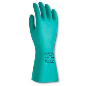 GUANTES SOL-VEX CORTO ANSELL SIN FLOCK 37-145