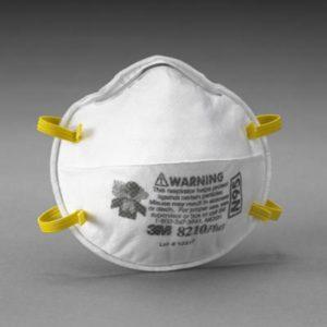 Respirador Para Partículas Termoformado 3M
