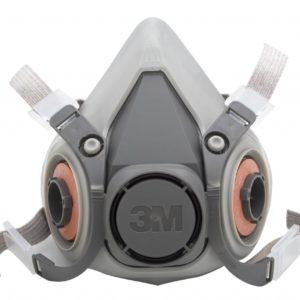 Respirador Media Cara 3M 6200
