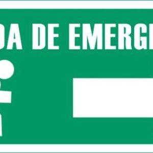 Señalización Salida De Emergencia A La derecha