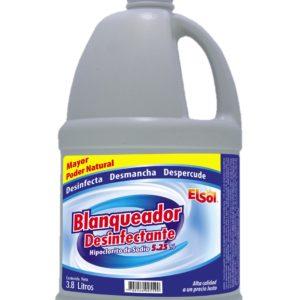 Blanqueador Desinfectante Con Cloro X 3.8 Litros