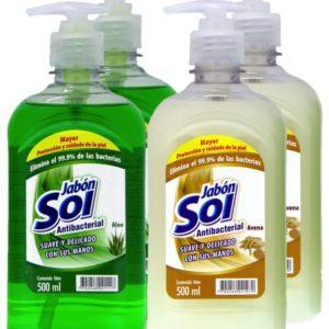 Jabón Líquido Para Manos Surtido X 4 Uds