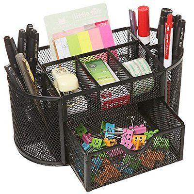 Kit organizador de escritorio en metal con dotaci n - Organizador cajon oficina ...