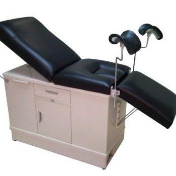 Mesa Para Ginecología Con Cubeta Y Pierneras
