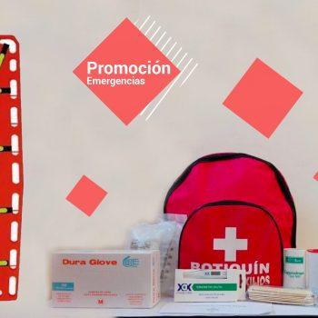 Promoción Camilla Junkin + Arnés + Botiquín Tipo A