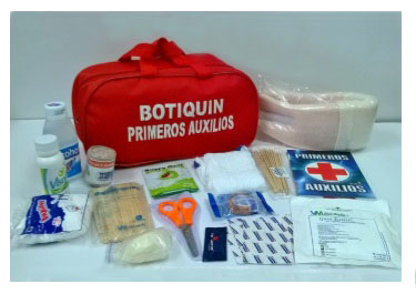 Botiquín Vehicular Obligatorio Para Kit De Carretera