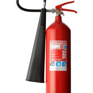 Extintor De CO2 De 10 Lbs
