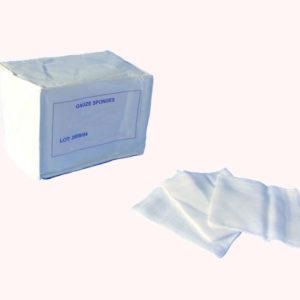 Gasa Tejida Esteril Caja X 24 Esponjas De Gasa
