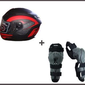 Combo De Protectores Deportivos Para Motociclista