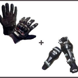 Combo Protector De Extremidades Para Motociclista