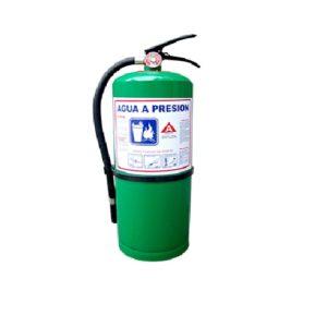 Extintor De Agua De 2.5 GL Con Aditivo Penetrante Color Verde