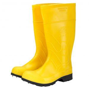 Botas de Caucho Amarillas con Puntera de Acero 45 – 46