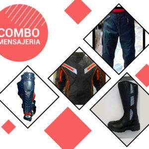 Promoción Chaqueta Antifricción + Pantalon Antifricción + Rodillera + Botas
