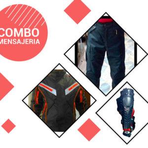 Promoción Chaqueta Antifriccion + Pantalón Antifriccion + Rodilleras