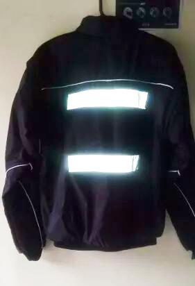 Chaqueta chaleco Para Motociclista Con Reflectivos