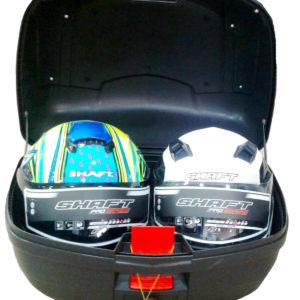 Maletero Para Moto 48 Litros para 2 Cascos Marca Kontrol